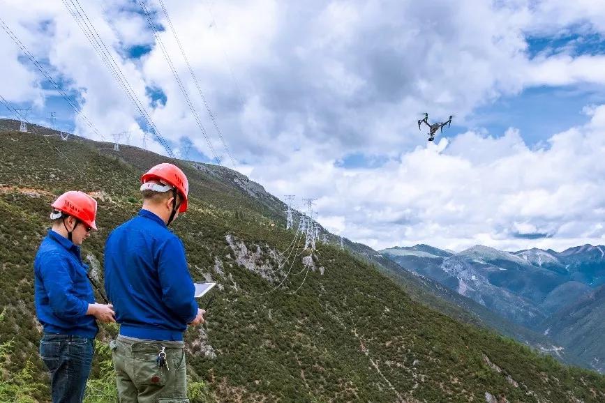 川藏电网巡检:无人机如何克服高海拔极端环境考验?